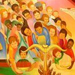 """Detail of """"Inheritance of Struggle"""" Mural"""