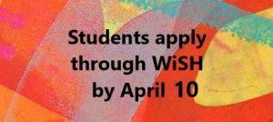 Student apply April 10