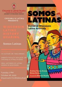 WI Latinx History Collective Event flyer