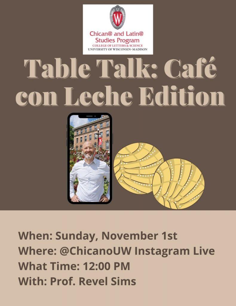 Table Talk Flyer